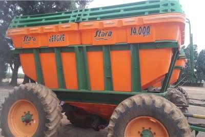 Other Grain trailers 10 Ton Stara 14000 Plus (Mielies en Kunsmis) Agricultural trailers