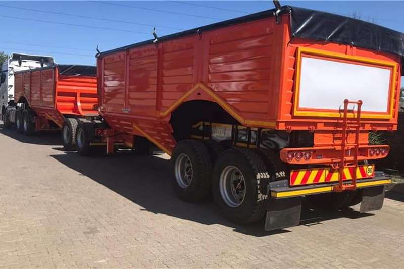 Other Grain trailers Trailord Grain Link Agricultural trailers