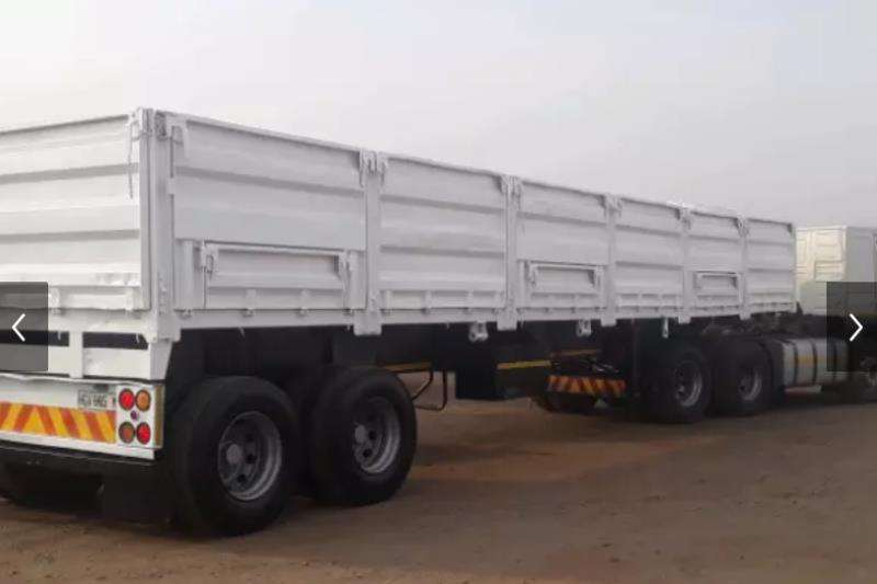 Other Agricultural trailers Other agricultural trailers USED 2016 DOUBLE AXLE DROP SIDE GRAIN TRAILER 2016
