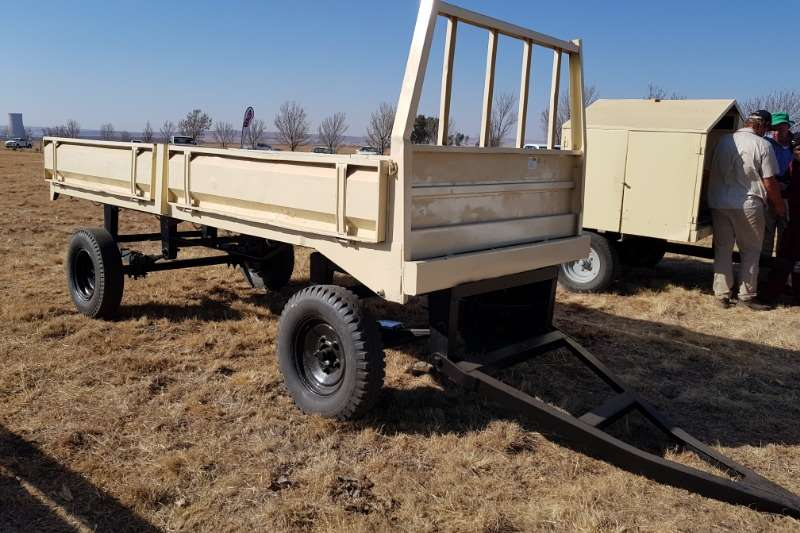 Other Agricultural trailers Small trailers 6 ton dropside trailer