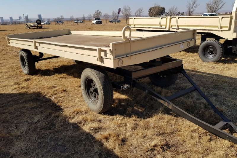 Other Agricultural trailers Small trailers 6 ton flatdeck trailer