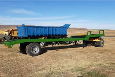 Other Stepdeck Single Axle Trailer Agricultural trailers