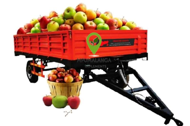 Other TG Farm Trailer Double Axle 6 Ton Agricultural trailers
