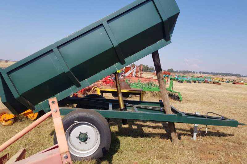 Other Agricultural Trailers Tipper Trailer New Bell Type Heavy Duty Tipper