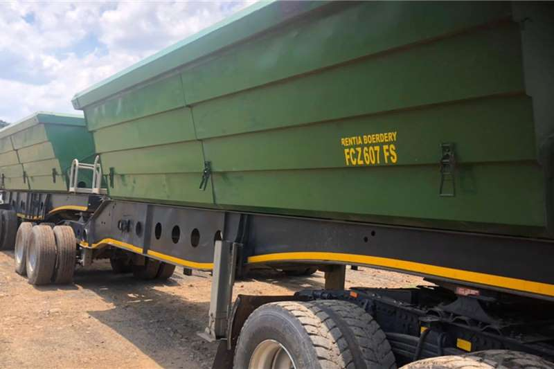Other Tipper trailers Afrit 40 Cube Tipper Agricultural trailers