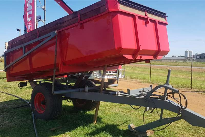 Other Tipper trailers Meidema 8 ton imported rear tipper Agricultural trailers