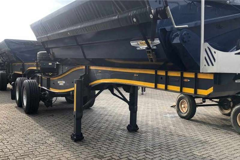 Other Tipper trailers Trailord 18 Cube Side Tipper Agricultural trailers