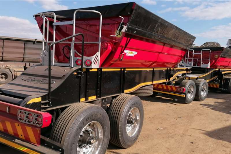 Other Tipper trailers Trailord 20 Cube Side Tipper Agricultural trailers