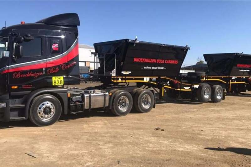 Other Tipper trailers Trailord 22 Cube Side Tipper Agricultural trailers