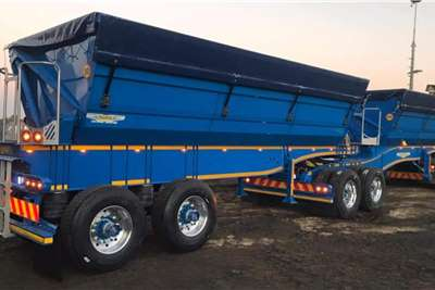 Other Tipper trailers Trailord 39 Cube Side Tipper Agricultural trailers