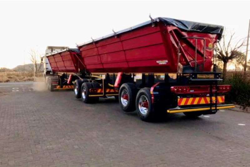 Other Tipper trailers Trailord 45 Cube Side Tipper Agricultural trailers