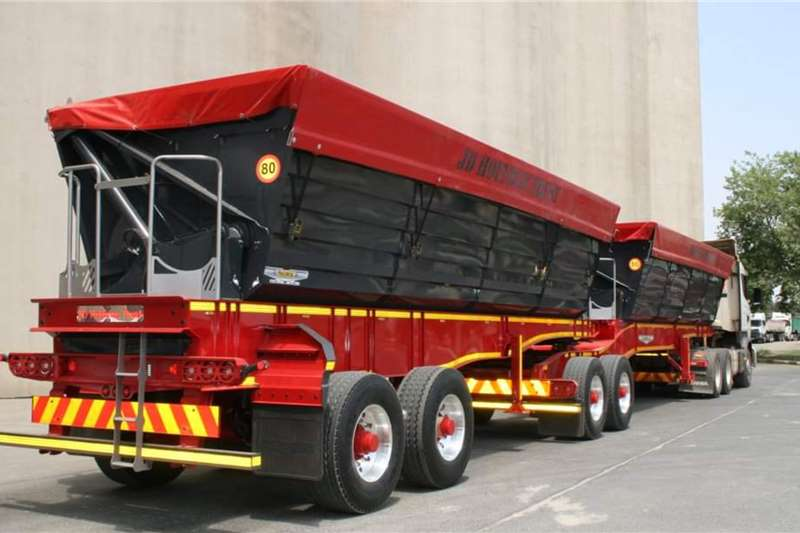 Other Tipper trailers Trailord 50 Cube Widespread Side Tipper Agricultural trailers