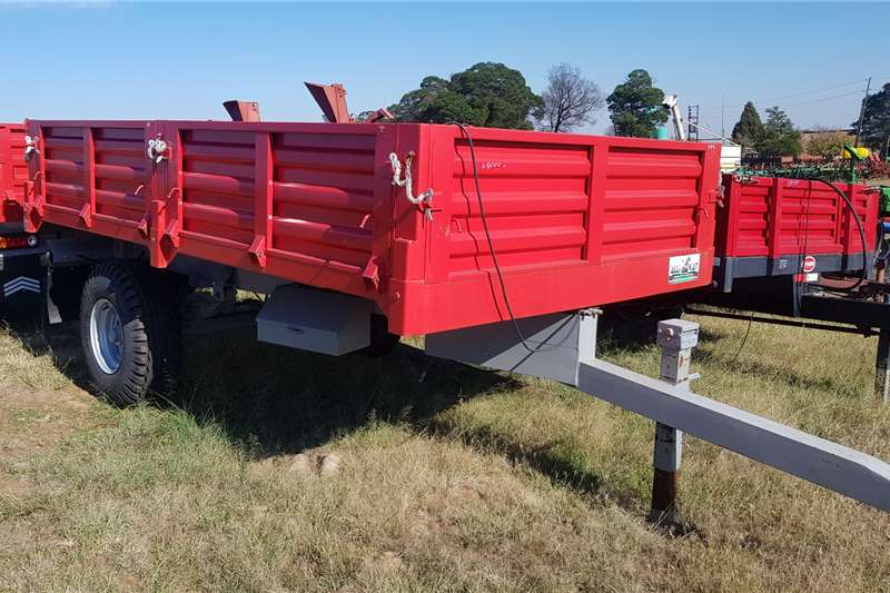 Other Agricultural Trailers Tipper Trailers Wirax European Tipper 5ton