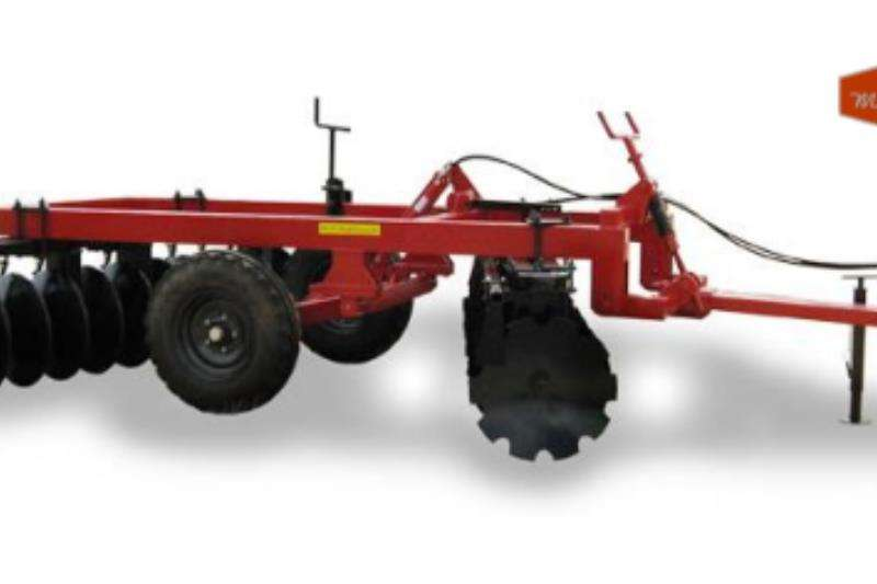 Other Cultivators Harrows BPI Manufacturing Globe Type Off Set Disc Harrow