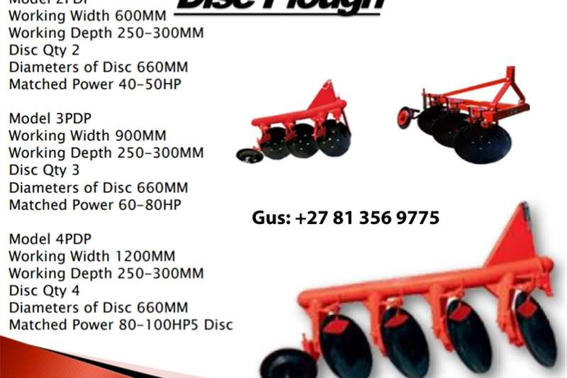 Disc Plough Other