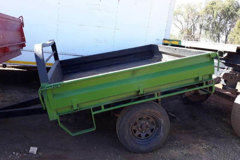 Other Feed wagons 2 WHEEL FARM TRAILER 750 KG DROP SIDE