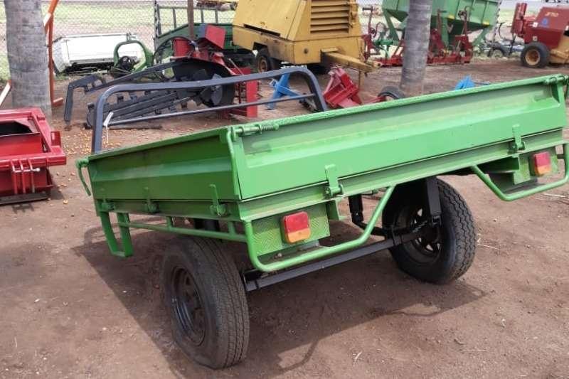 Other 2 WHEEL FARM TRAILER 750 KG DROP SIDE Feed wagons