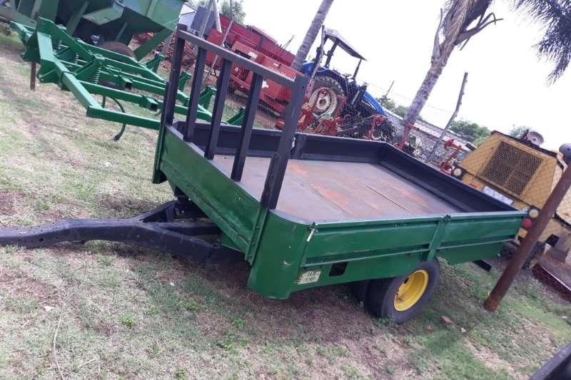 Other Feed wagons FARM FEED TRAILER 2 WHEEL 1 TON DROP SIDE