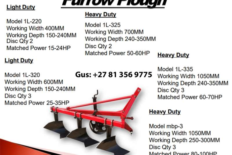 Furrow Plough Other
