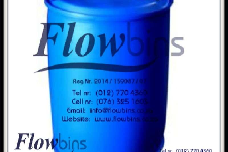 Other Gauteng: 210Lt Blow Pack Plastic drums / Blue roun