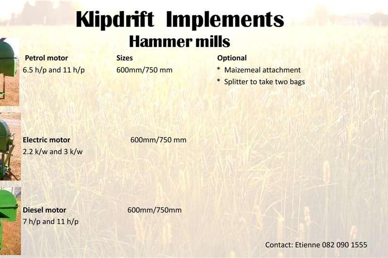Other hammer mills Hammermills for sale