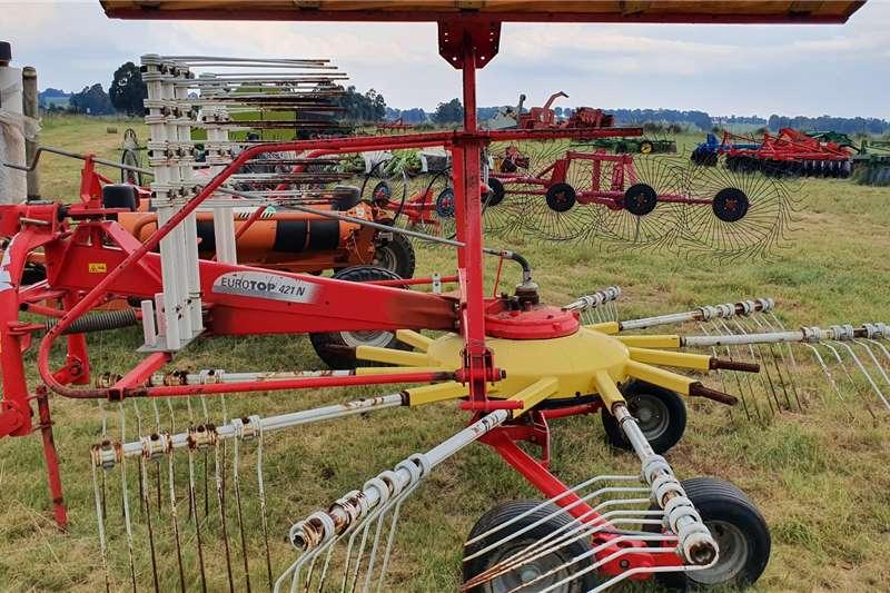 Other Hay and forage Rakes Pottinger Eurotp 421N tedder kraghark 2014