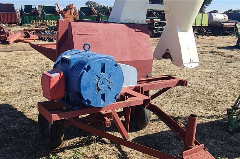 Other Hammer mills Electric Hammer Mill with starter Box Haymaking and silage