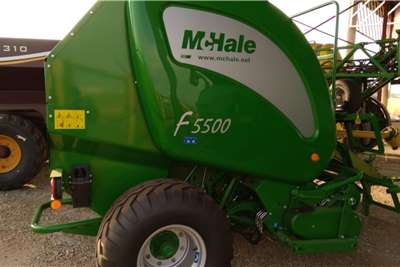 Other Jupidex Mchale F5500 baler Haymaking and silage