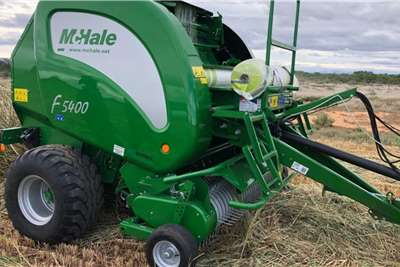 Other Round balers Mchale F5400 Round Baler Haymaking and silage