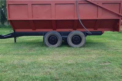 Landmech 16 Ton Silage Tip Trailer Other
