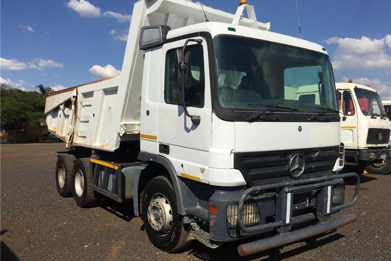 Other Mercedes Benz Actros 10m3 TipperPre Owned Truck 2004