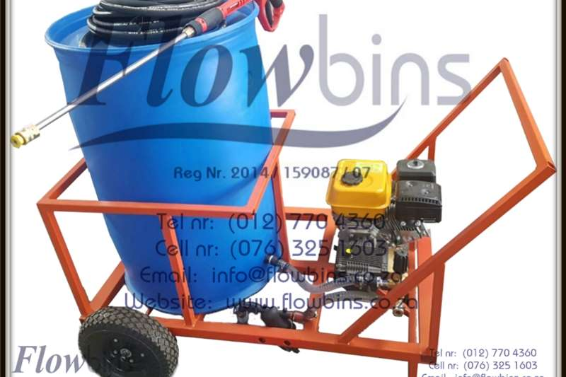 NEW 1000  2500Lt 178 Bar Mobile Pressure Washer Un Other