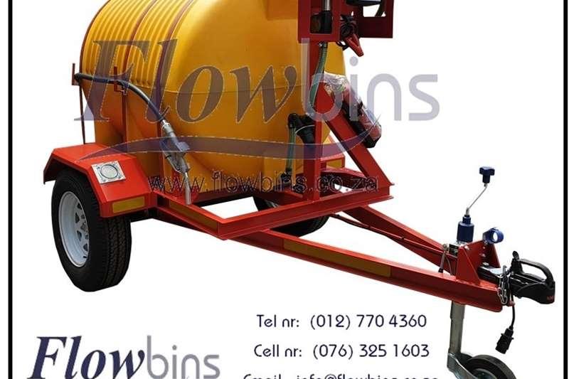 NEW 1000Lt  2500Lt Horizontal Diesel Bowser Traile Other
