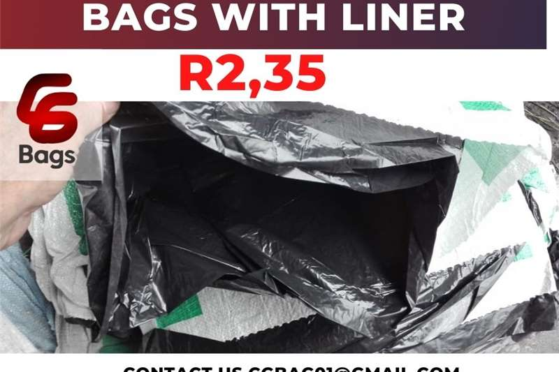 Other NEW 50kg bags with liner 2013