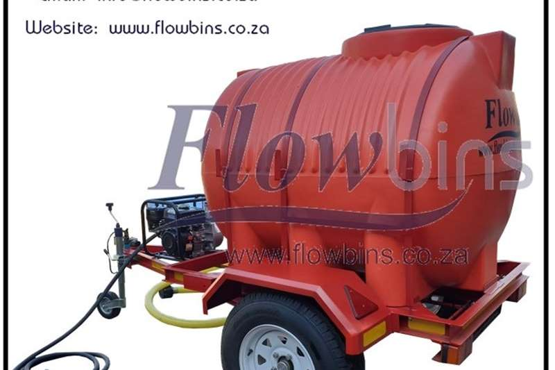 NEW 600 to 2500Lt Water Bowser / Firefighter Trail Other