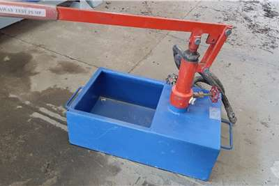 Pipeline Pressure Testing Pump Other