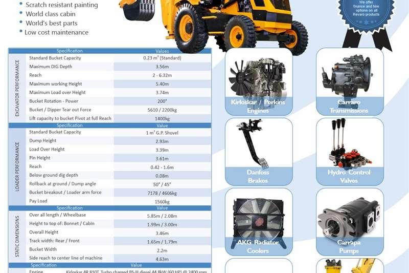 Other Revaro Smart 60 Agri TLB Backhoe Loader