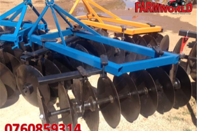 Other S2781 Blue Unknown Make 16 Disc Offset Harrow / 16