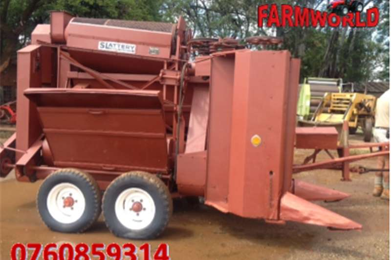 Other S2793 Brown Slattery 1 Row Combine Harvester / 1 R