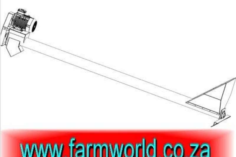 Other S652 Orange Hippo Grain Auger 165mm x 9m / Graan A