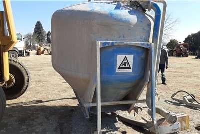 Silo Feed Bin Dry Bulk Storage Tank Industrial Other