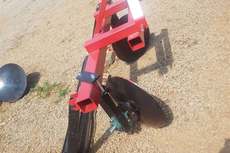 Single Row 2 Disc Ridger with Roller / Walblok me Other