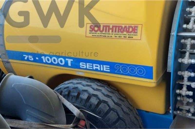 Other Trailed sprayers Nobili 75   1000T Spraying equipment
