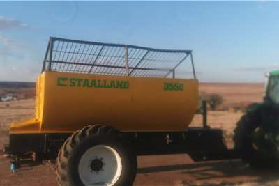 Other Staalland D550 5.5Ton Lime Spreader Spreaders