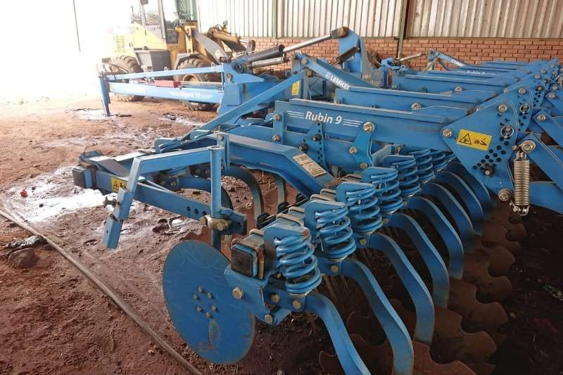 Other Tillage equipment Cultivators Lemken Gigant 10/8 2014