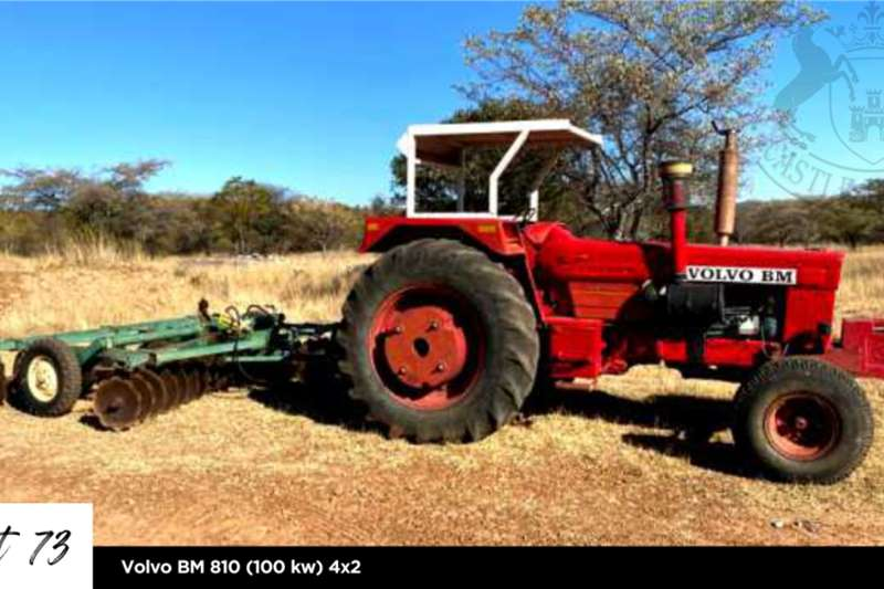 Other 4WD tractors Volvo BM 810 (100 kw) 4x2 Tractors