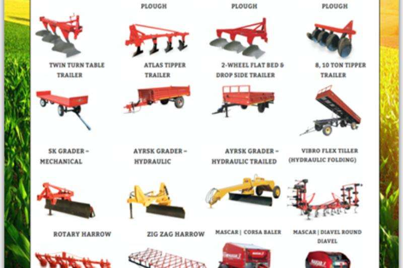 Other Tractors Farming Implements