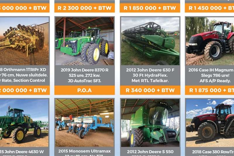 Other Tractors Four Wheel Drive Tractors Tractors Available