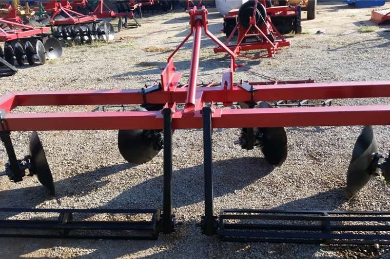 Other U Make Double Row 4 Disc Ridger with Roller / Walb