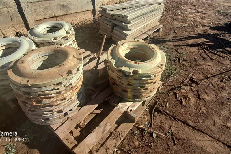 VARIETY OF TRACTOR BACK WHEEL WEIGHTS Other